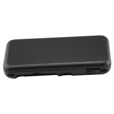 New 2DS XL Console Aluminum Case-Black