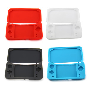 NEW 2DSXL/LL Console Silicone Case 4Colors