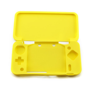NEW 2DSXL/LL Console Silicone Case-Yellow