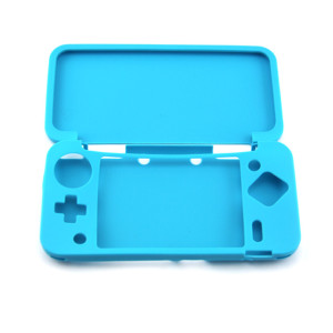 NEW 2DSXL/LL Console Silicone Case-Blue