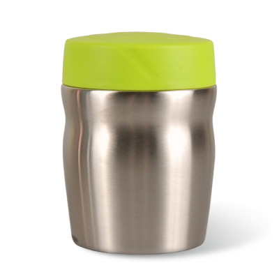 Everich Double Wall Stainless Steel Vacuum Insulated Curve Food Jar 350ml