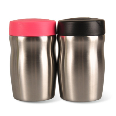 Everich Double Wall Stainless Steel Vacuum Insulated Curve Food Jar 500ml