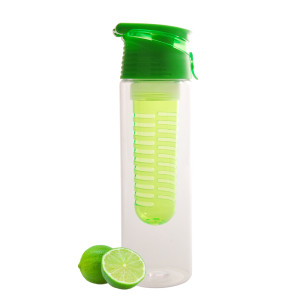 Everich Tritan Bottle with Fruit Infuser 600ml