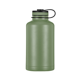 Everich  D/W S/S Vacuum Insulated Beer Growler 64oz with Flat Lid