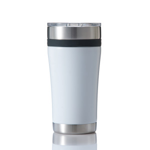 Everich Double Wall Stainless Steel Vacuum Insulated Tumbler with Silicone Band 20oz