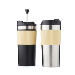 EVERICH 110107 NEW D/W Stainless Steel Vacuum Insulated Coffee Cup