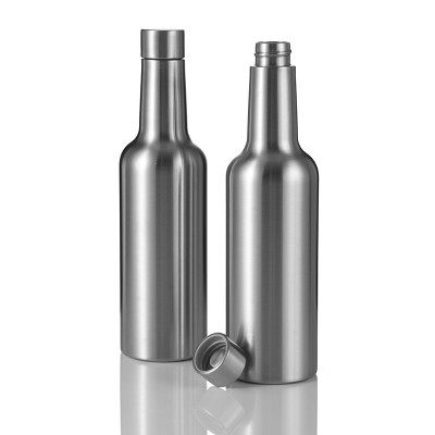 Everich 2547X Double Wall Stainless Steel Vacuum Insulated Wine Bottle 375/750ml