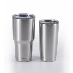 EVERICH 2579Z Double Wall Stainless Steel Vacuum Cup 20&30oz