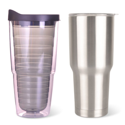 EVERICH 2581 Double Wall Stainless Steel Vacuum Cup 30oz