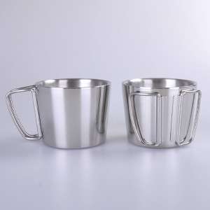 EVERICH 309311 Double Wall Stainless Steel Vacuum Cup