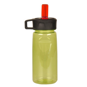 Everich 6651C Plastic Bottle  with Straw lid