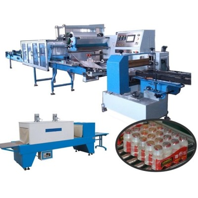 SWSF-800 SWD-4000 Collective Bottles Shrink Packing Machine