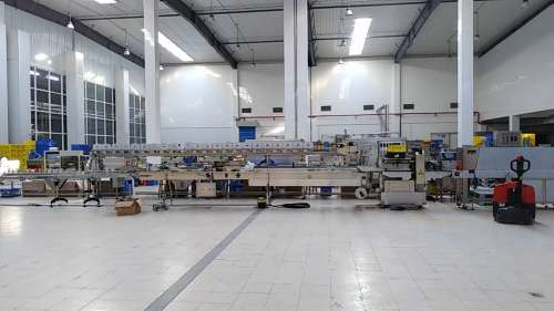 SWWF-590 SWD-2500 D-cam Motion Shrink Packing Machinery