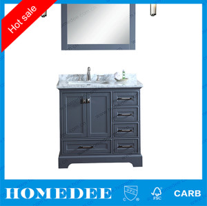 HOMEDEE waterproof hotel bathroom vanity with legs canada
