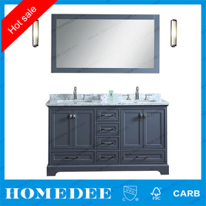 Homedee Solid Wooden Allen Roth Bathroom Vanity,Modern AmericanHotel Oak Bathroom Vanity Cabin