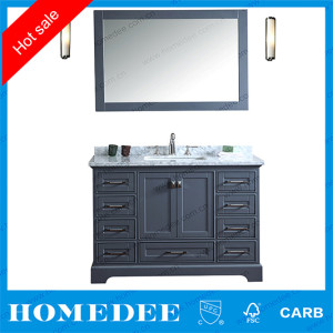 modern new commercial hotel bathroom vanity units,simple style wooden bathroom cabinet