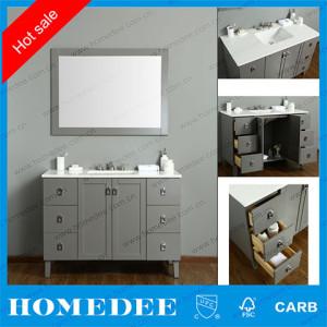 HOMEDEE whoesale bathroom vanity,factory made floor mounted bathroom cabinet