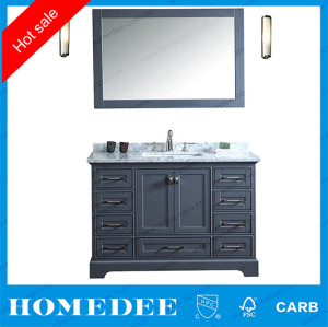 cheap modern solid wood bathroom vanity set,2018 new bathroom vanity