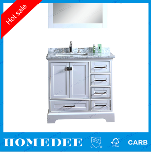 homedee customized design bathroom vanity cabinet,Chinese factory wholesale custom bathroom vanity