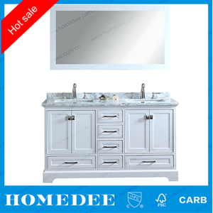 homedee 72 inch bathroom vanity cabinet,double bowl ceramic basin bathroom furniture