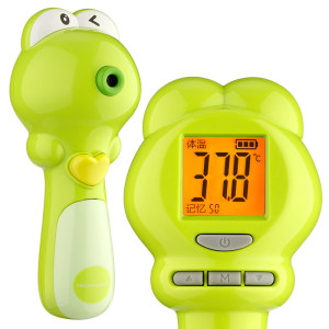 Green frog Infrared forehead thermometers for children