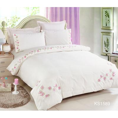 KOSMOS 100% cotton high quality embroidery duvet cover set