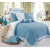 Home Bedding 100% Polyester King Size Patchwork Bedspread