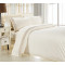 stripe embroidery duvet cover set include duvet cover and pillowcase