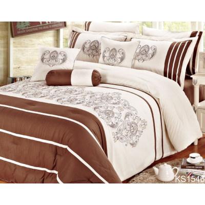 Kosmos embroidery 10 pcs comforter sets