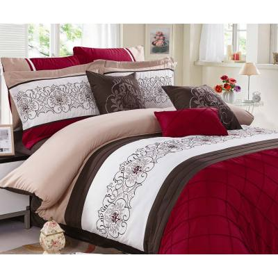 KOSMOS 100% cotton embroidery comforter sets
