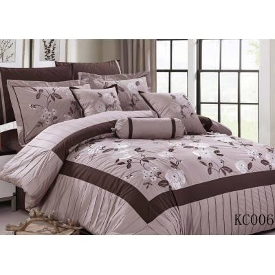 KOSMOS embroidery bedding set 100% polyester comforter sets