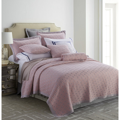 100%cotton quilted king size  bedspread sets coverlet