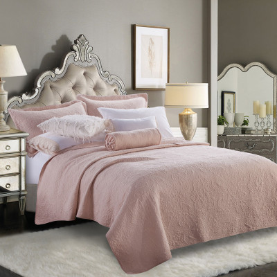 KOSMOS  Luxury 3-Pieces 100% polyester Thick Quilted Bedspread Set