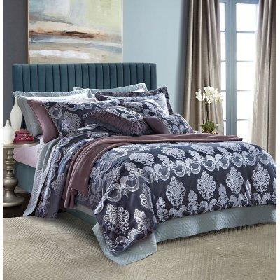 2017 new luxury jacquard duvet cover set comforter set