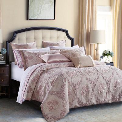 2017 new luxury jacquard duvet cover set comforter set size available
