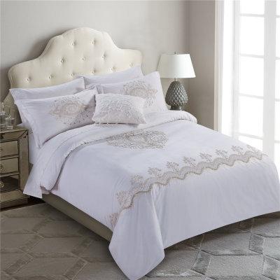 2017 new luxury jacquard silky soft comforter sets luxury bedding duvet cover