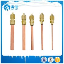 1/4 copper access valve for refrigeration parts