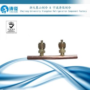 Copper Service Access Valve for air conditioner
