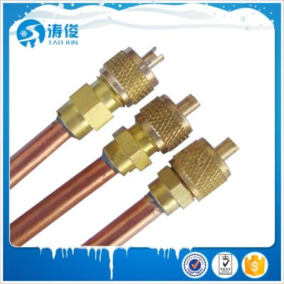 refrigeration parts access valve
