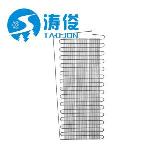 Refrigerator drum cooling condenser