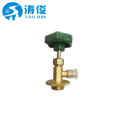 Refrigeration tap valve can bottle air conditioning R12