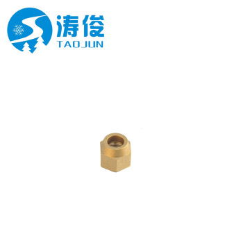 brass nuts(copper parts) for refrigeration parts