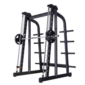 Hogar Inteligente de alta seguridad gimnasio inteligente potencia rack Smith Machine
