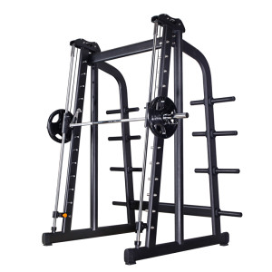 Household High security Intelligent home gym power rack Smith Machine