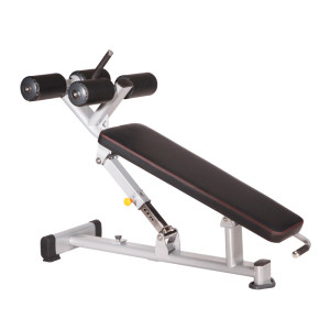 Commercial Adjustable Ab Bench free weights for abs system