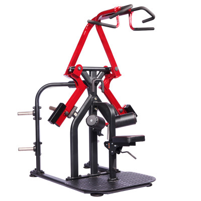 FITNESSGERATE JUNXIA GYM EQUIPMENT PLATE LOADED J500-11 LAT PULL commercial GYM equipment  Machine