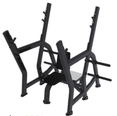 Commercial Gym Equipment FITNESS Olympic Shoulder Bench