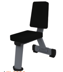 Commercial Gym Equipment FITNESS Utility Bench