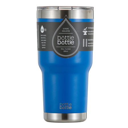 30 OZ Vacuum Insulated Tumbler - Glacier Blue