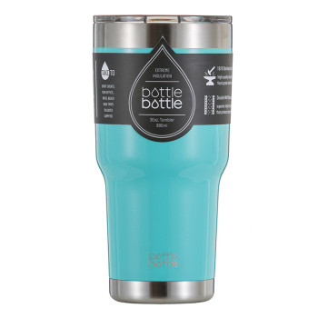 30 OZ Vacuum Insulated Tumbler - Freshing Blue
